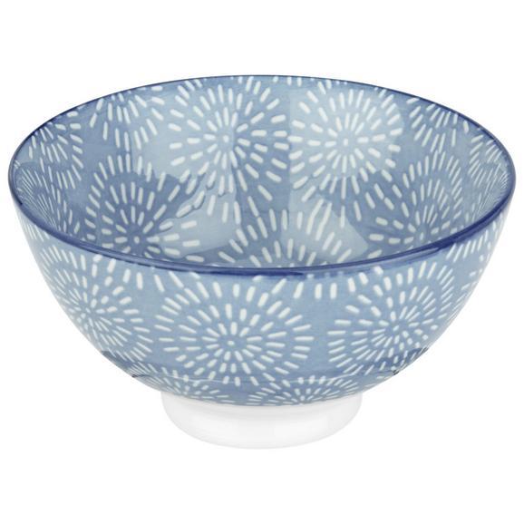 Bol Pentru Cereale Nina - albastru, ceramică (11cm) - Modern Living