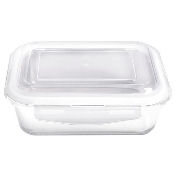 Frischhaltedose Fresh ca. 850ml - Klar, Glas/Kunststoff (20,6/16,3/7,5cm) - Mömax modern living