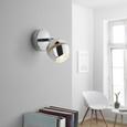 Strahler Tiffany mit Led - Chromfarben, Metall (8/15,2cm) - Mömax modern living
