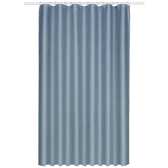 Zavjesa Za Tuš Uni - bijela, tekstil (180/200cm) - Mömax modern living