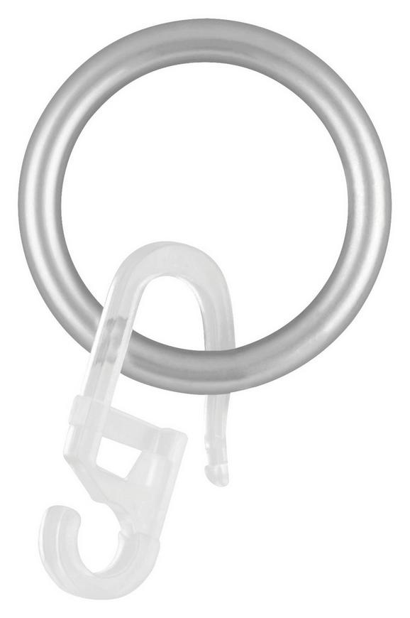 Ring Combi in Edelstahl, 10er Pack - Edelstahlfarben, MODERN, Metall - Mömax modern living