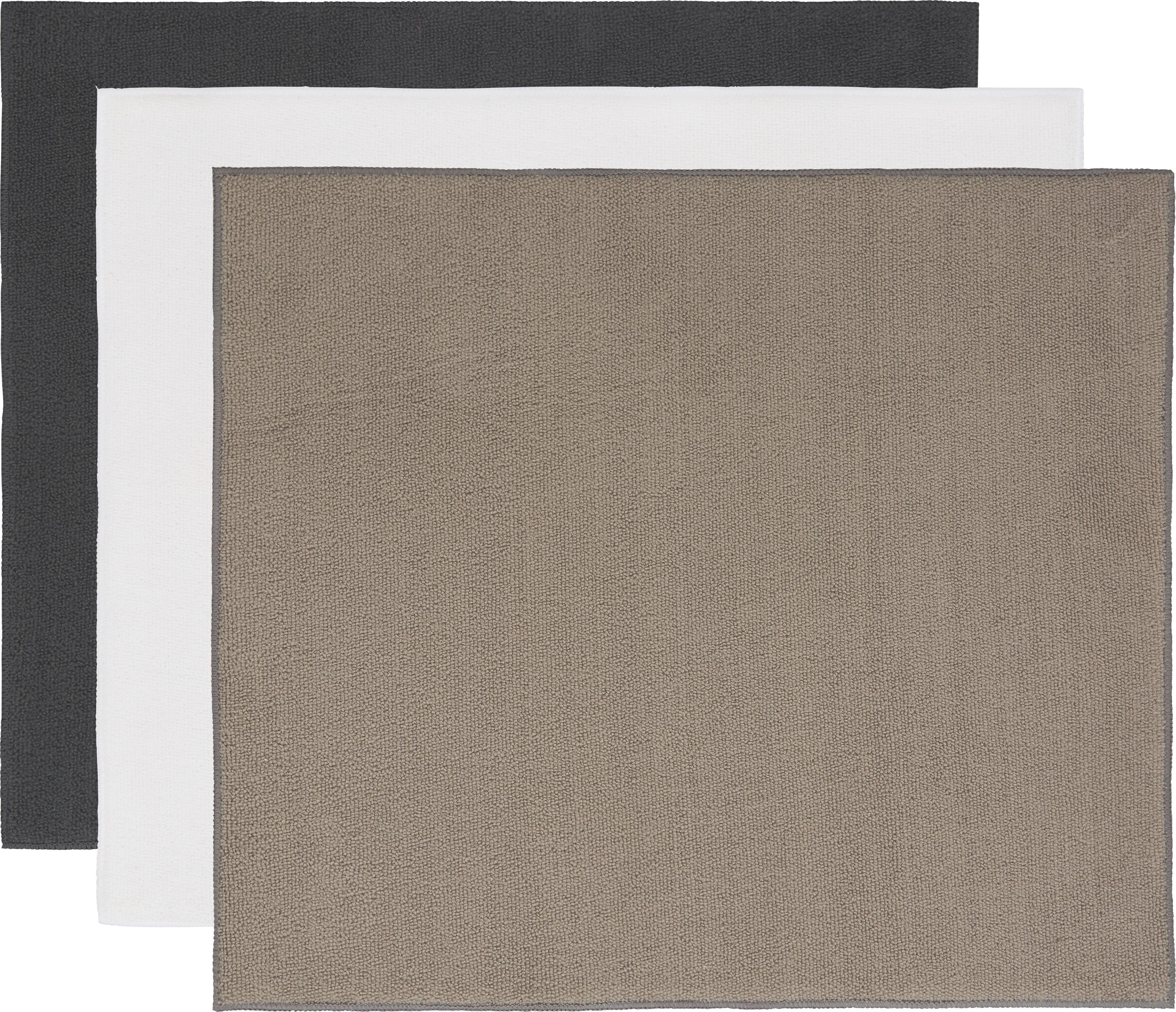 abtropfmatte Marianne - Sandfarben/Anthrazit, Textil (40/45cm) - MÖMAX modern living
