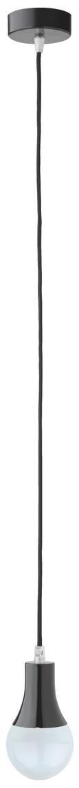 Hängeleuchte Padina - Schwarz, Kunststoff/Metall (9/92cm) - Mömax modern living