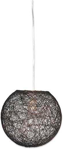 Viseča Svetilka Sophia - rjava, Trendi, tekstil (50cm) - MÖMAX modern living