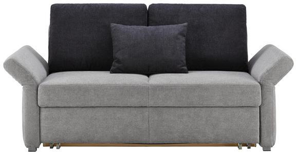 Schlafsofa Grau mit Bettfunktion - KONVENTIONELL, Holzwerkstoff (186/90/95cm) - Premium Living