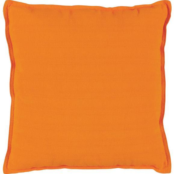 Okrasna Blazina Solid One -ext- - oranžna, tekstil (45/45cm)