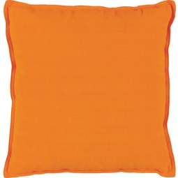 Zierkissen Solid one Orange, 45x45 cm - Orange, Textil (45/45cm)