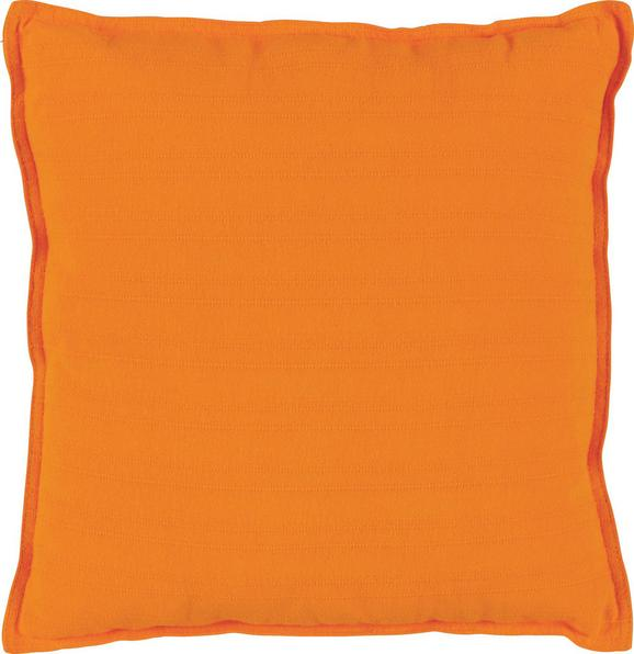 Zierkissen Solid One Orange, 45x45 cm - Orange, Textil (45/45cm)