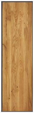 Viseči Element Arizona - hrast/antracit, Moderno, leseni material/les (38/137/32cm) - Premium Living