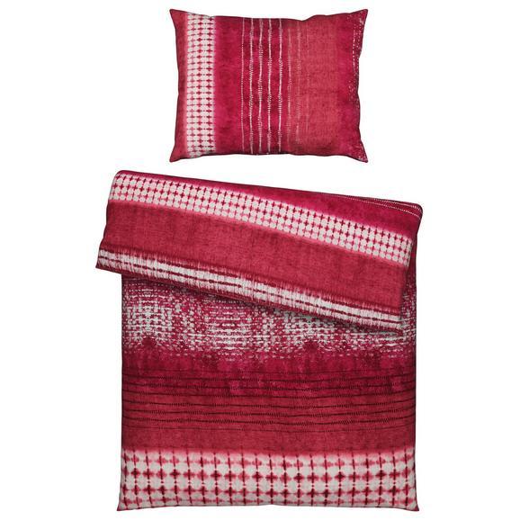 Bettwäsche Laris Beere ca.140x200cm - Beere, Textil (140/200/1cm) - Premium Living