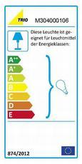 Hängeleuchte Emma, max. 60 Watt - Chromfarben, MODERN, Kunststoff (25cm)