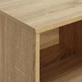 Sideboard Enny - Weiß/Pinienfarben, MODERN, Holz/Metall (120/70/35cm) - Bessagi Home