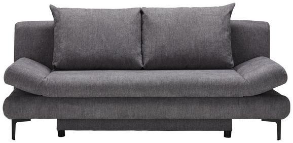 Funkcijska Zofa Lemon - temno siva/črna, Moderno, tekstil (191/76/42/86cm) - Modern Living