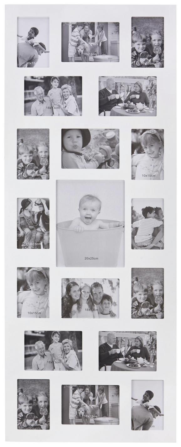 Képkeret Anja - fehér, faanyagok (47,5/121/1,5cm) - MÖMAX modern living