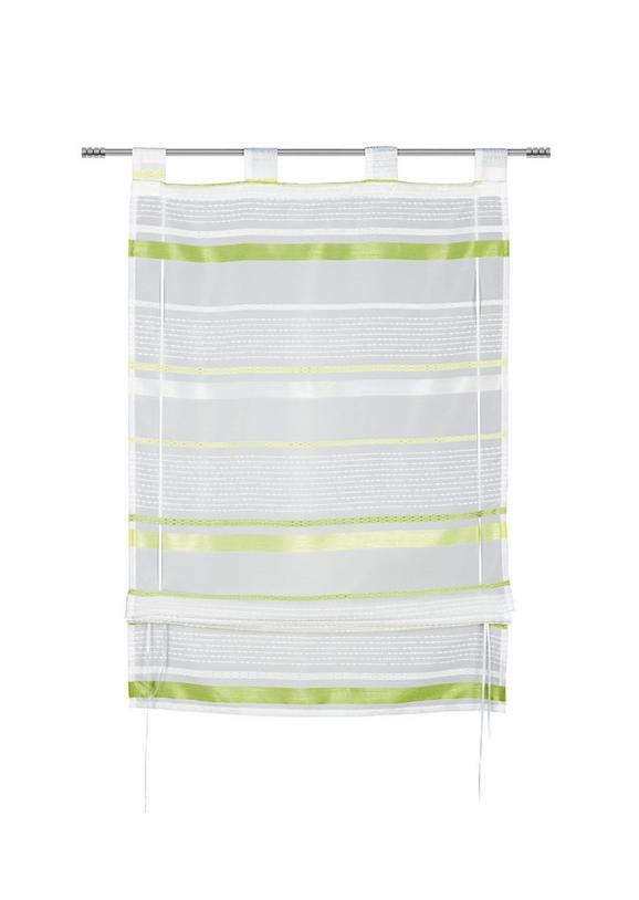 Bändchenrollo Adele, ca. 80x140cm - Grün, KONVENTIONELL, Textil (80/140cm) - MÖMAX modern living