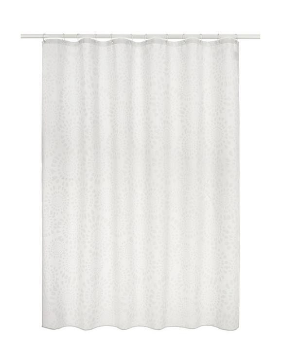 Duschvorhang Blanche in Weiß, ca. 180x200cm - Weiß (180/200cm) - MÖMAX modern living