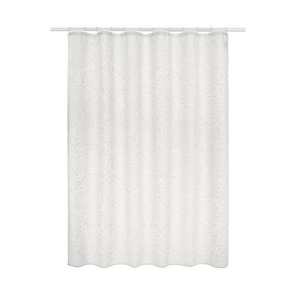 Duschvorhang Blanche Weiß ca. 180x200cm - Weiß (180/200cm) - Mömax modern living