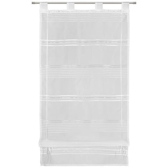 Bändchenrollo Louis in Weiß ca. 60x140cm - Weiß, KONVENTIONELL, Textil (60/140cm) - Mömax modern living