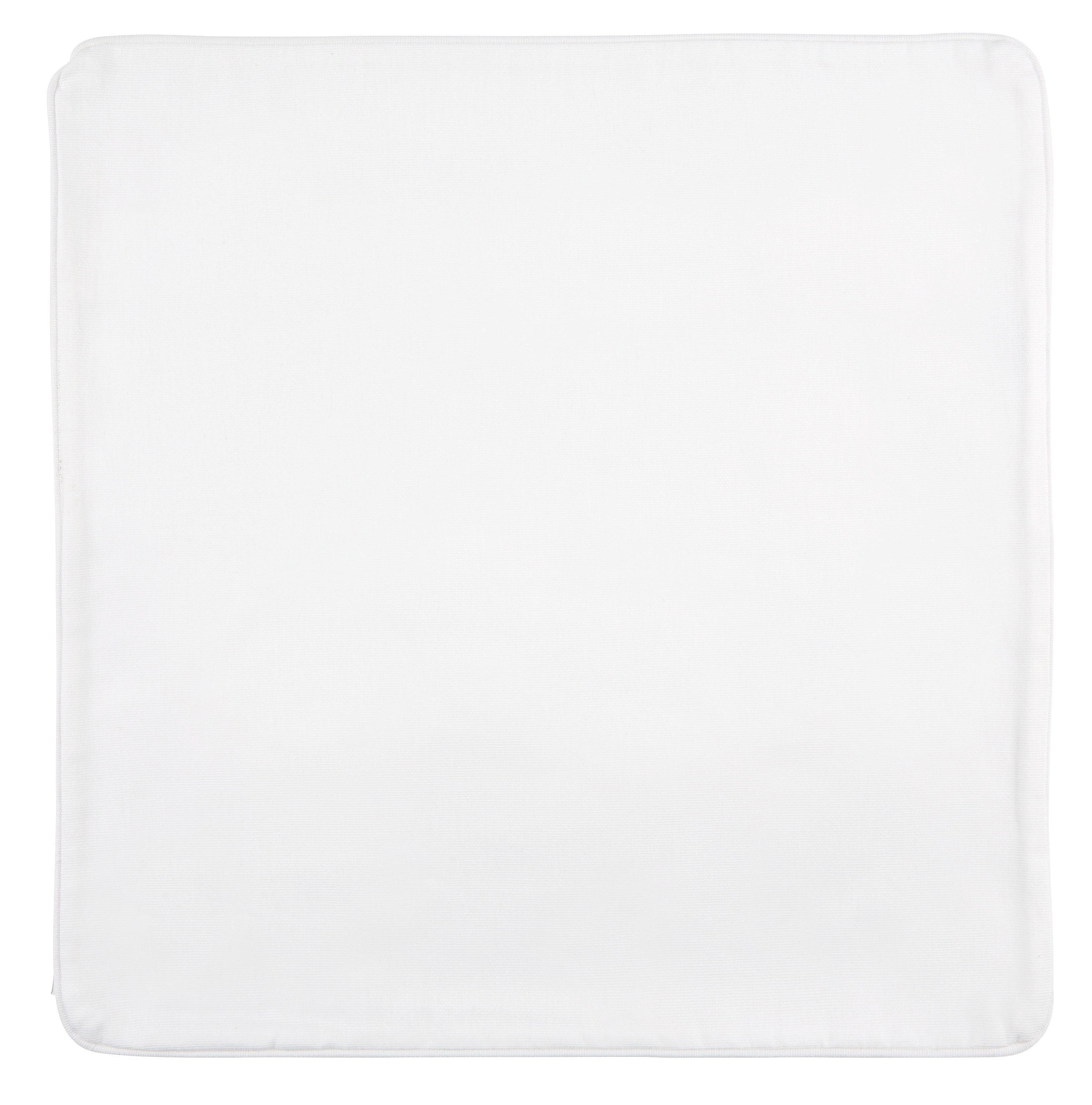 Párnahuzat Steffi - fehér, textil (40/40cm) - MÖMAX modern living