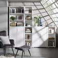 Set Vrat Line4 - bela, Moderno, leseni material (74/103/2cm) - Mömax modern living