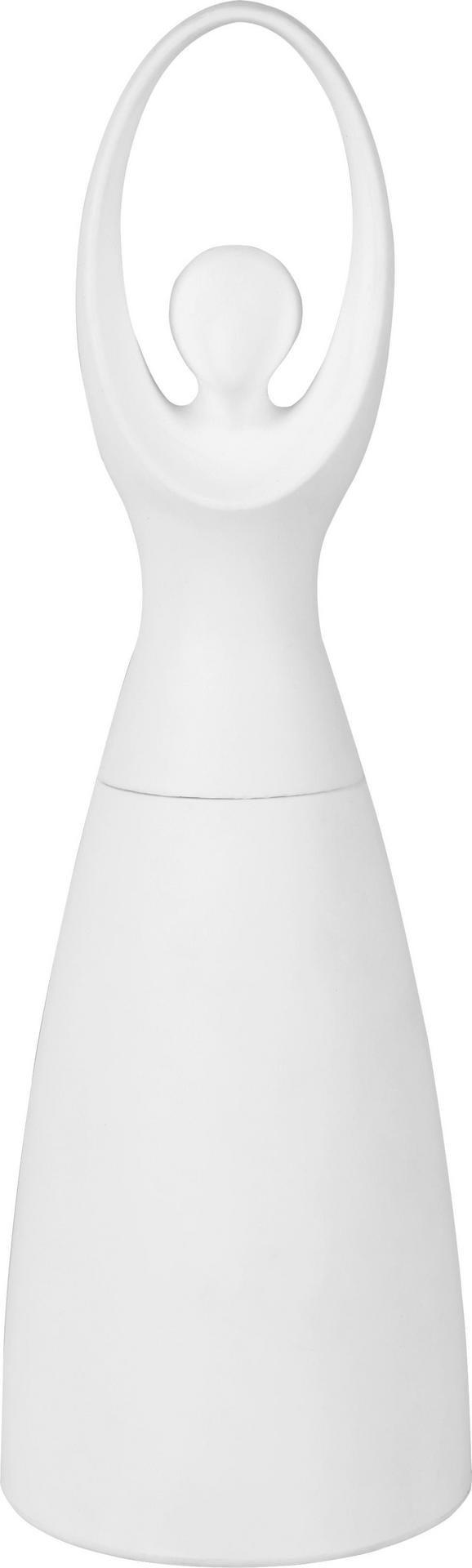 Salz- oder Pfeffermühle Ballerina - Weiß, Keramik/Kunststoff (6/19cm) - MÖMAX modern living