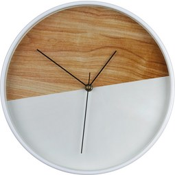 Falióra Agnes - Natúr/Fehér, Műanyag (30cm) - Mömax modern living