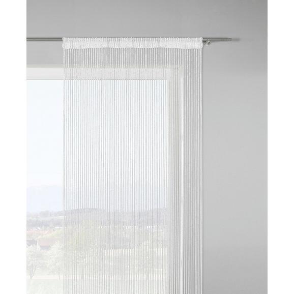 Nitasta Zavesa Lurex - zlata/bela, Trendi, tekstil (90/245cm) - Mömax modern living