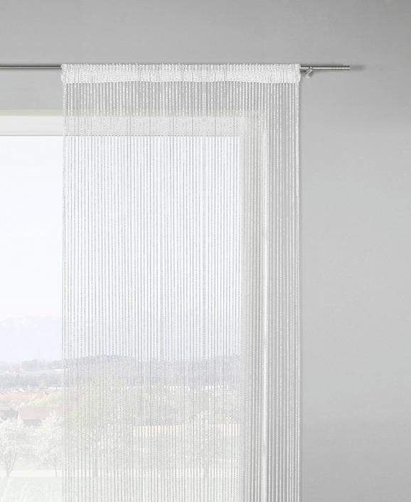 Zsinórfüggöny Lurex - Arany/Fehér, Lifestyle, Textil (90/245cm) - Mömax modern living