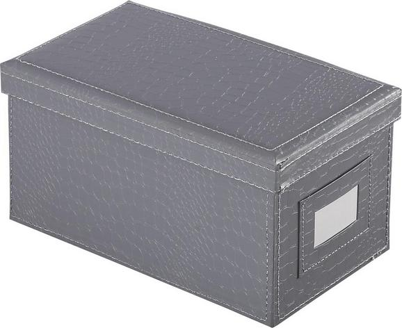 Cd-/dvd Doboz Magnolia - szürke, Lifestyle, karton (25/14/25cm) - MÖMAX modern living