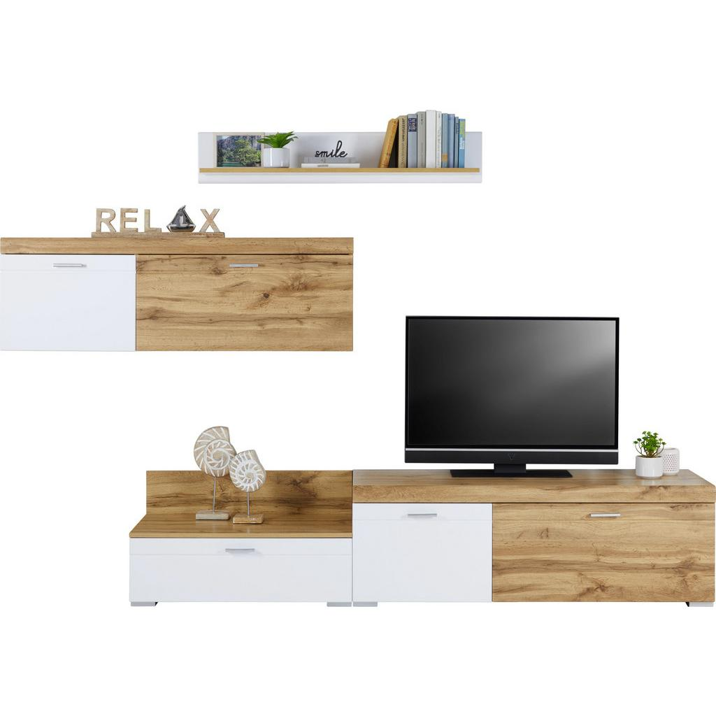 wohnwand wei hochglanz eichefarben physiotherapie in chemnitz. Black Bedroom Furniture Sets. Home Design Ideas