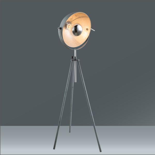 Állólámpa Blanche - szürke, Lifestyle, fém (69/179cm) - MÖMAX modern living