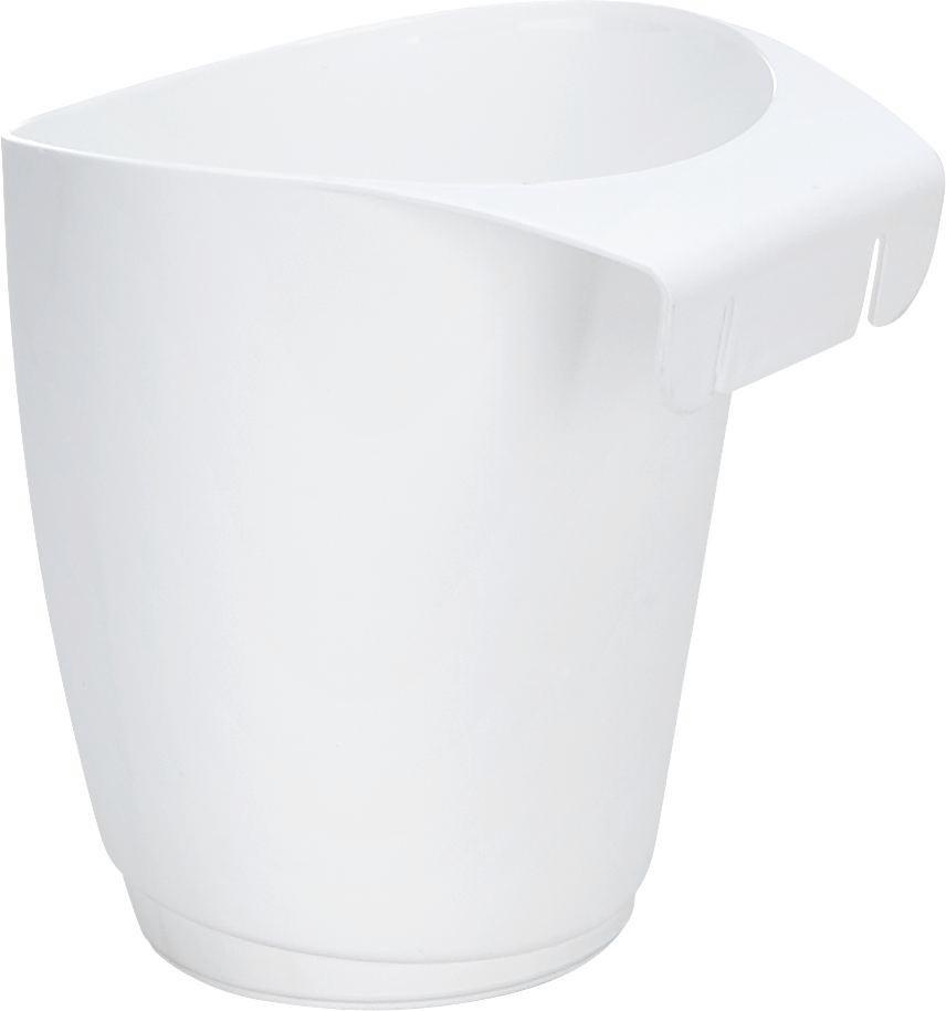 Hängeaufbewahrung Gerli in Weiß - Weiß, Kunststoff (12/13/12,3cm) - MÖMAX modern living