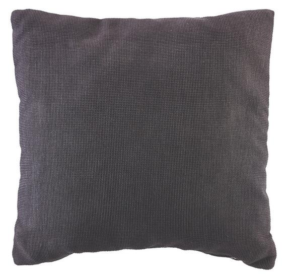 Sofakissen 38x38cm Schwarz - Schwarz, MODERN, Textil (38/38cm) - Premium Living