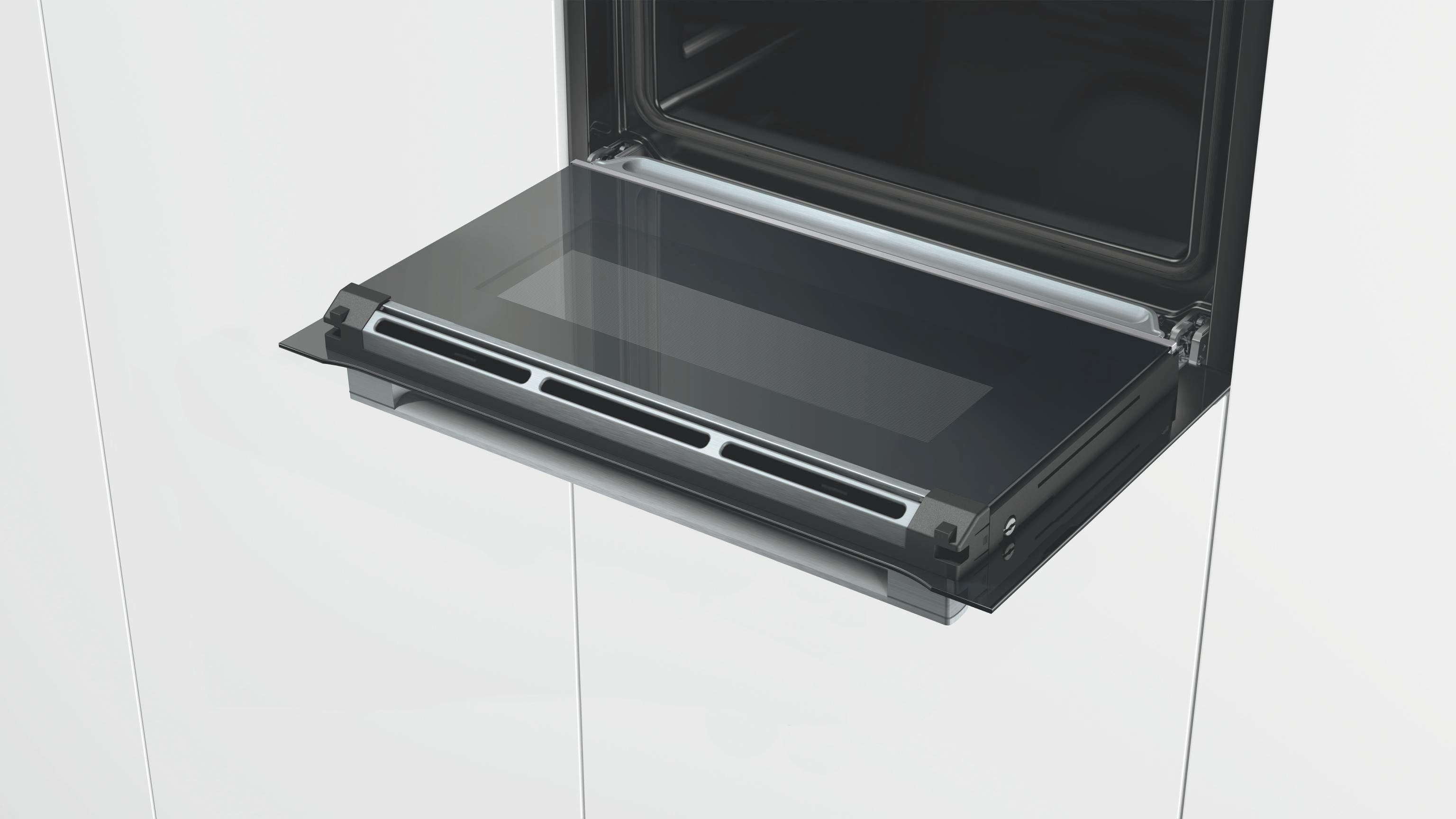 Kompaktbackofen Bosch Csg636bs2, EEZ A+ - Glas/Metall (59,5/45,5/54,8cm) - BOSCH
