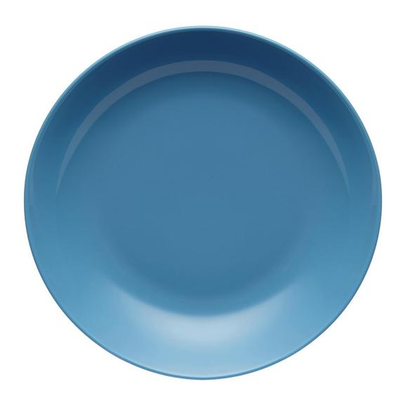 Globoki Krožnik Sandy - turkizna, Konvencionalno, keramika (20/3,5cm) - Mömax modern living