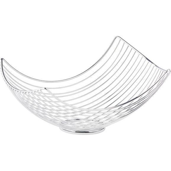 Skleda Za Sadje Roma - krom, kovina (34/26/16cm) - Mömax modern living
