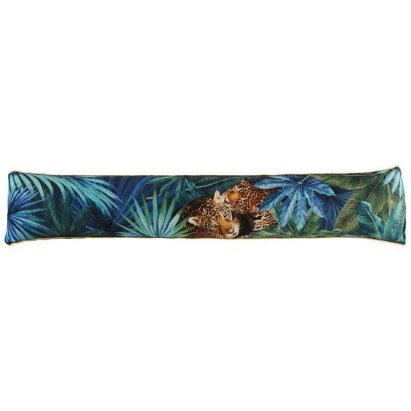 Zugluftstopper Jungle ca. 15x85cm - Goldfarben/Schwarz, LIFESTYLE, Textil (15/85cm) - Mömax modern living