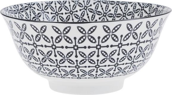 Tál Shiva - fekete/fehér, Lifestyle, kerámia (21/8cm) - MÖMAX modern living
