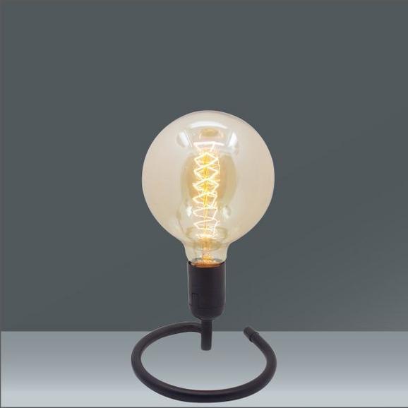 Namizna Svetilka Malia - črna, Trendi, kovina/umetna masa (15/15/10,7cm) - Mömax modern living