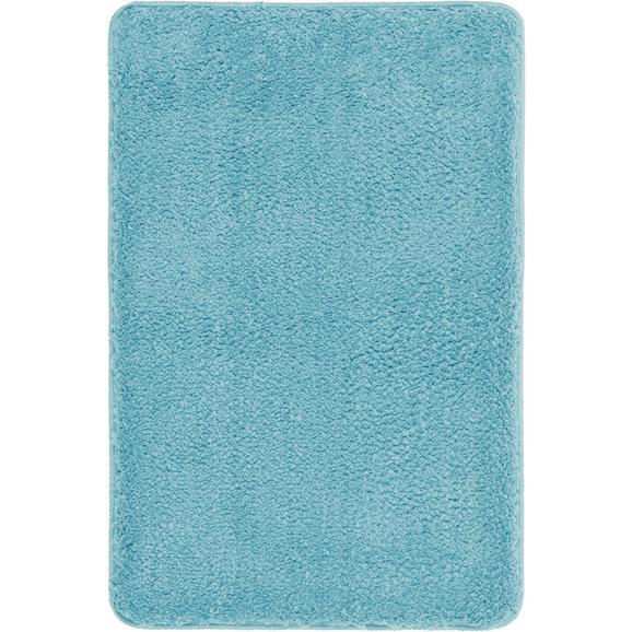 Badematte Christina Aqua 60x90cm - Hellblau, Textil (60/90cm) - Mömax modern living