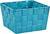 Korb Nelly aus Nylon in Blau - Blau, MODERN, Textil (19/19/11cm) - Mömax modern living