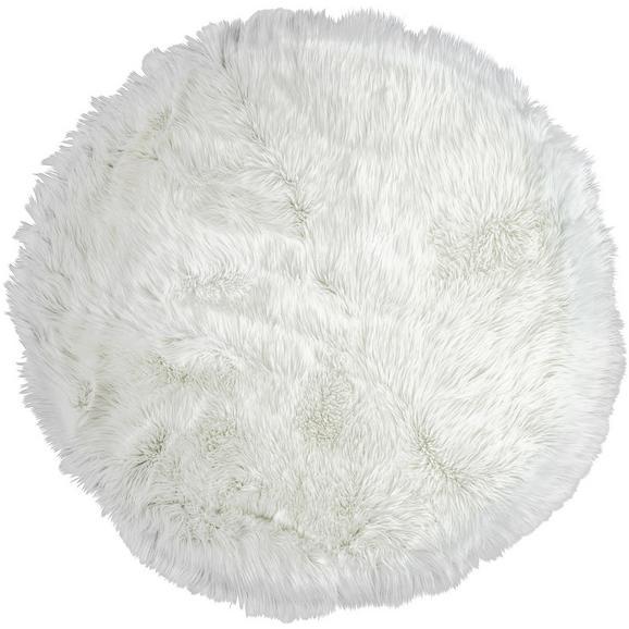 Kunstfell Teddy in Weiß ca.80cm - Weiß, Textil (80cm) - Mömax modern living