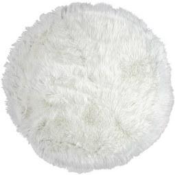 Kunstfell Teddy Weiß 80cm - Weiß, Textil (80cm) - Mömax modern living