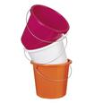 Vedro Rosi -based- - roza/zelena, kovina/umetna masa (23,2/20cm) - Based