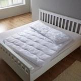 Vierjahreszeiten Steppdecke Irisette 135x200 cm - Weiß, MODERN, Textil (135/200cm) - Irisette