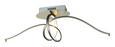 Stropna Led-svetilka Fran - nikelj, Romantika, kovina/umetna masa (70/23/cm) - Premium Living