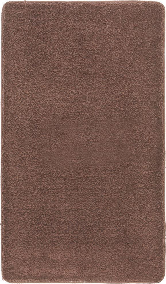 Badematte Christina Braun - Braun, Textil (70/120cm) - Mömax modern living