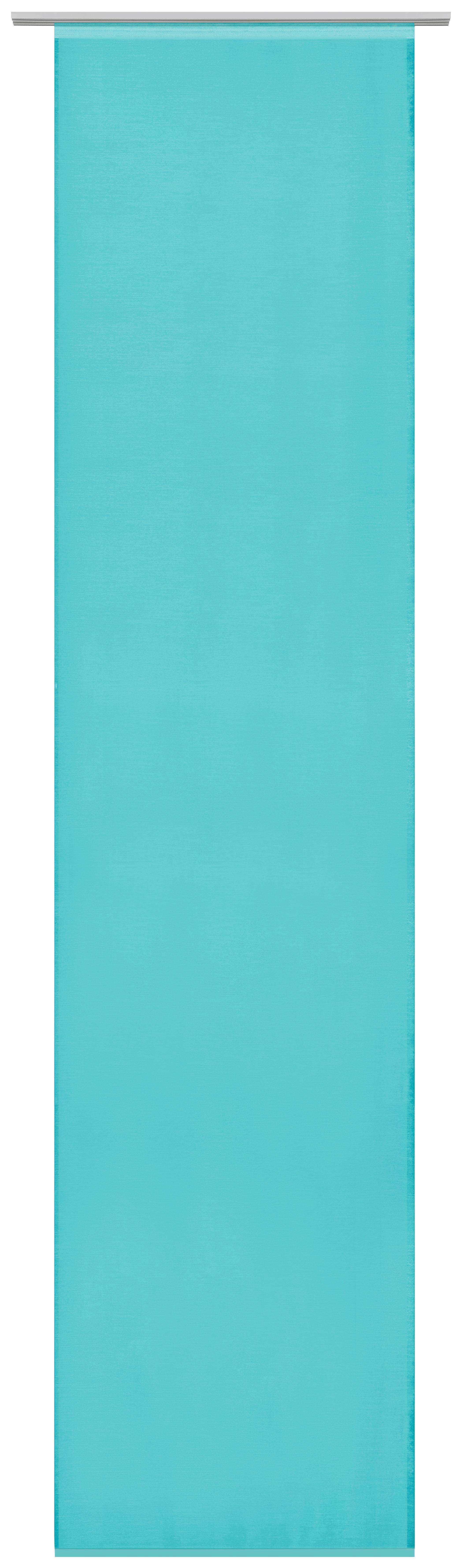 Lapfüggöny Uni - petrol, modern, textil (60/245cm) - MÖMAX modern living