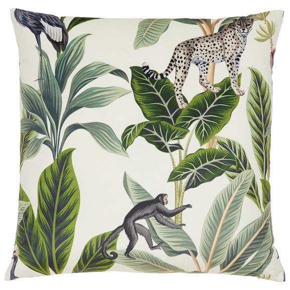 """Pernă Decorativă Junglelife"""" - alb, Konventionell, textil (60/60cm) - Modern Living"""