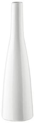 Vase Plancio Weiß - Weiß, MODERN, Keramik (33cm) - Mömax modern living
